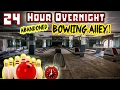 GUN FOUND 24 HOUR OVERNIGHT CHALLENGE ABANDONED BOWLING ALLEY BOWLING ALLEY FORT CHALLENGE mp3