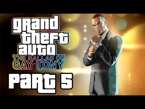 "Grand Theft Auto 4: The Ballad Of Gay Tony - Let's Play - Part 5 - ""Diamonds And Haters"""