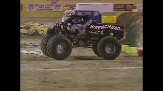 Freestyle Wrenchhead com Monster Jam World Finals 2000
