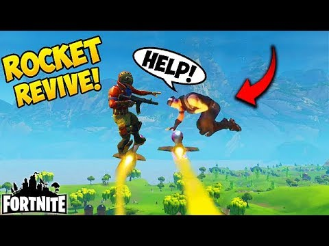 10 000 Iq Guided Missile Revive Fortnite Funny Fails And Wtf