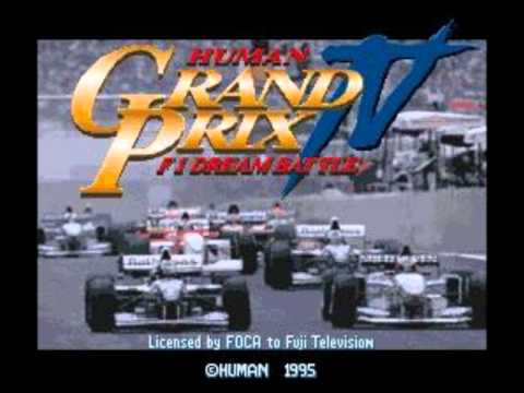 Human Grand Prix IV: F1 Dream Battle 04 - Starting Grid