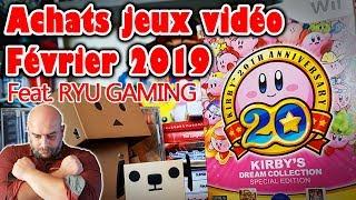 Achats jeux vidéo février 2019 : compilation Kirby pas sortie en Europe, des RPG et Ryu Gaming