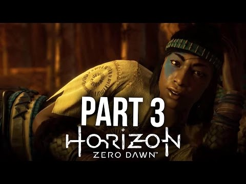 HORIZON ZERO DAWN Walkthrough Part 3 - MOTHER'S HEART (PS4 Pro Gameplay Let's Play)