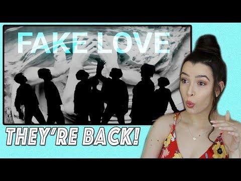 Fake Love- BTS Music Video Reaction (WHEW)