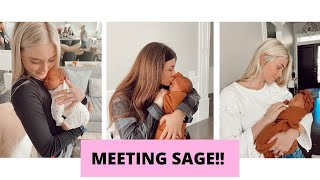 MEETING SAGE FOR THE FIRST TIME!! *REACTION VIDEO!*