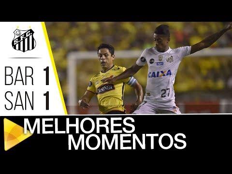 Barcelona 1 x 1 Santos | MELHORES MOMENTOS | CONMEBOL Libertadores Bridgestone (13/09/17)