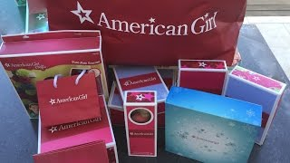 American Girl Doll Haul - Christmas 2014