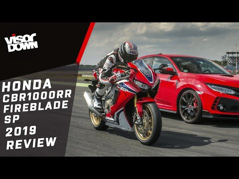 Honda CBR1000RR FIREBLADE SP 2019 Review