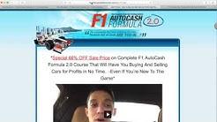 WARNING: Tony Bandalos F1 AutoCash Formula 2.0 SCAM!