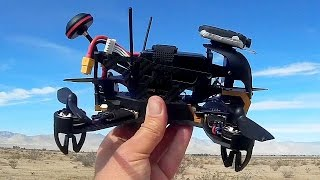 Walkera F210 Racing Drone Flight Test Review