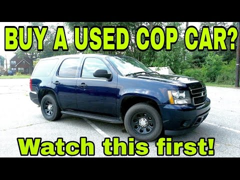 Thumbnail: Buying a Used Cop Car!