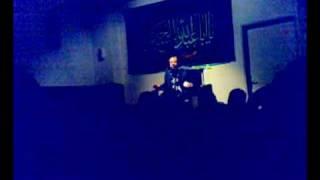 Haj Mahmod Karimi in vienna imam Ali zentrum Muharram 1431