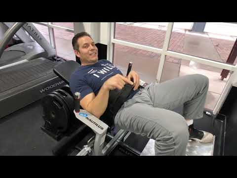 How To Set-Up The Seat Belt On The Nautilus Glute Drive