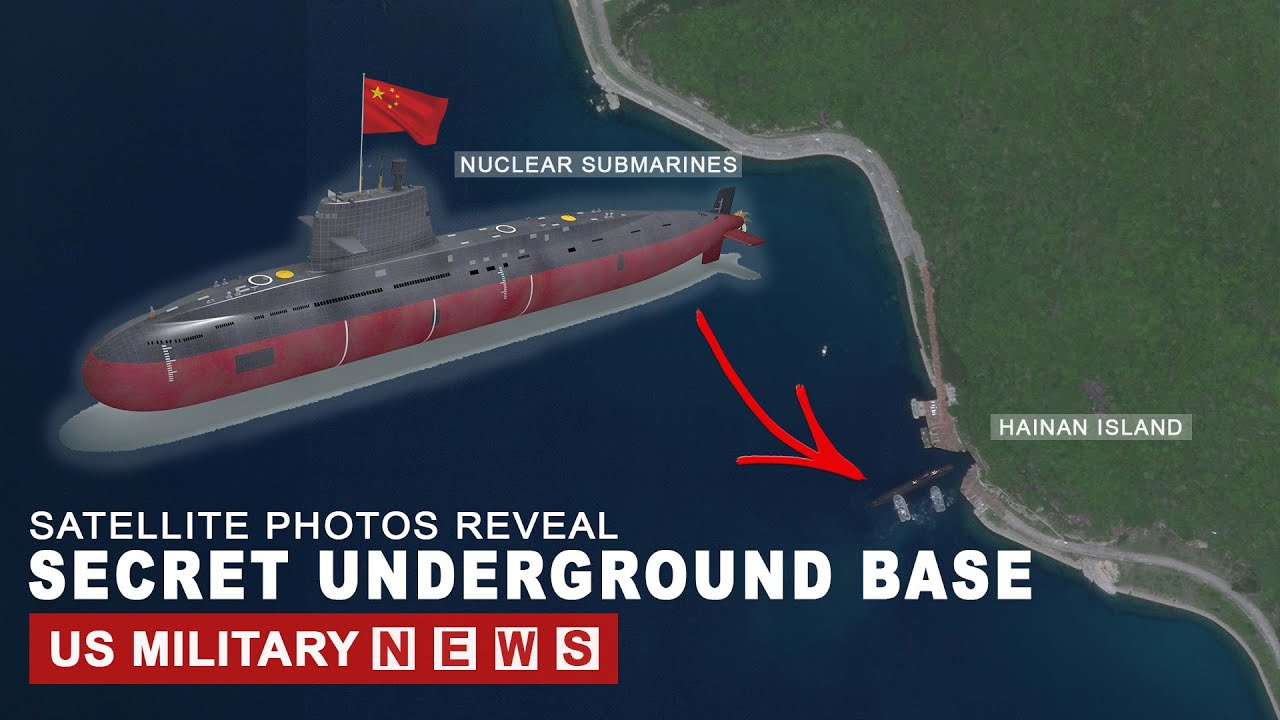 South China Sea: Photos Reveal Secret Underground Base Off Hainan Island