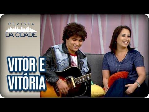 Bate-papo E Música Com VITOR E VITÓRIA - Revista Da Cidade (12/04/18)