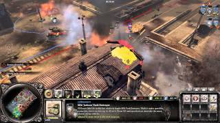 COH2 : The Western Front Armies 4v4 Annihilation Multiplayer Gameplay - Tanks Everywhere!