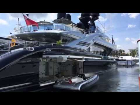 Super Yacht OKTO at the Palm Beach Boat Show with Randall Burg