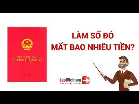 Làm Sổ Đỏ Mất Bao Nhiêu Tiền? Tất Cả Thông Tin Về Làm Sổ Đỏ Mới Nhất | LuatVietnam