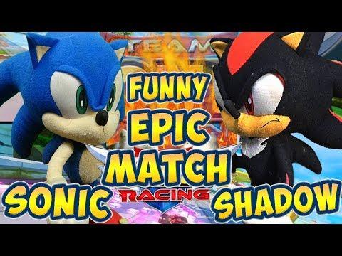 ABM: Sonic Vs Shadow !! Team Sonic Racing !! Race Battle !! ᴴᴰ