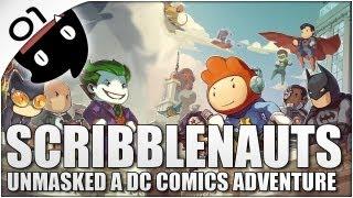 Scribblenauts Unmasked 01 con Cris - ¡Soy Batman!