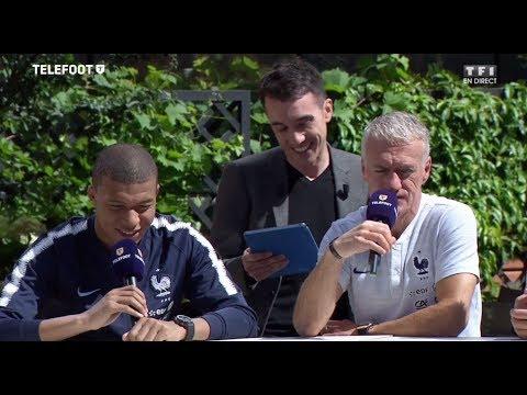 Le Oui/Non avec Kylian Mbappé et Didier Deschamps (Equipe de France)