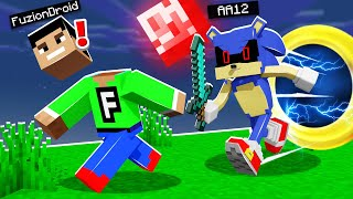 I Pretended To Be SONIC EXE And He Had NO IDEA! (Minecraft Trolling Prank)