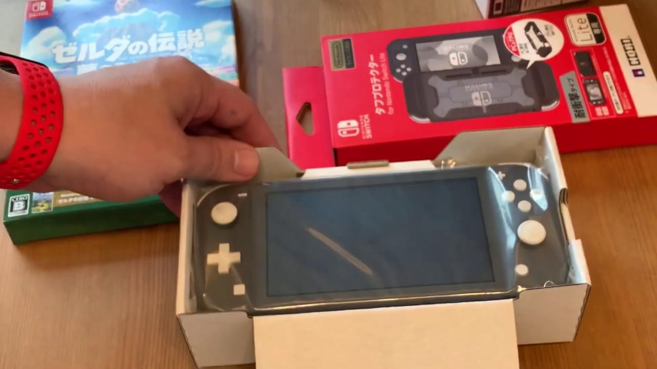 Japan Switch Lite Link S Awakening W Art Book Hori Case Unboxing