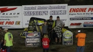 Crystal Motor Speedway Traditional Sprint Car Feature