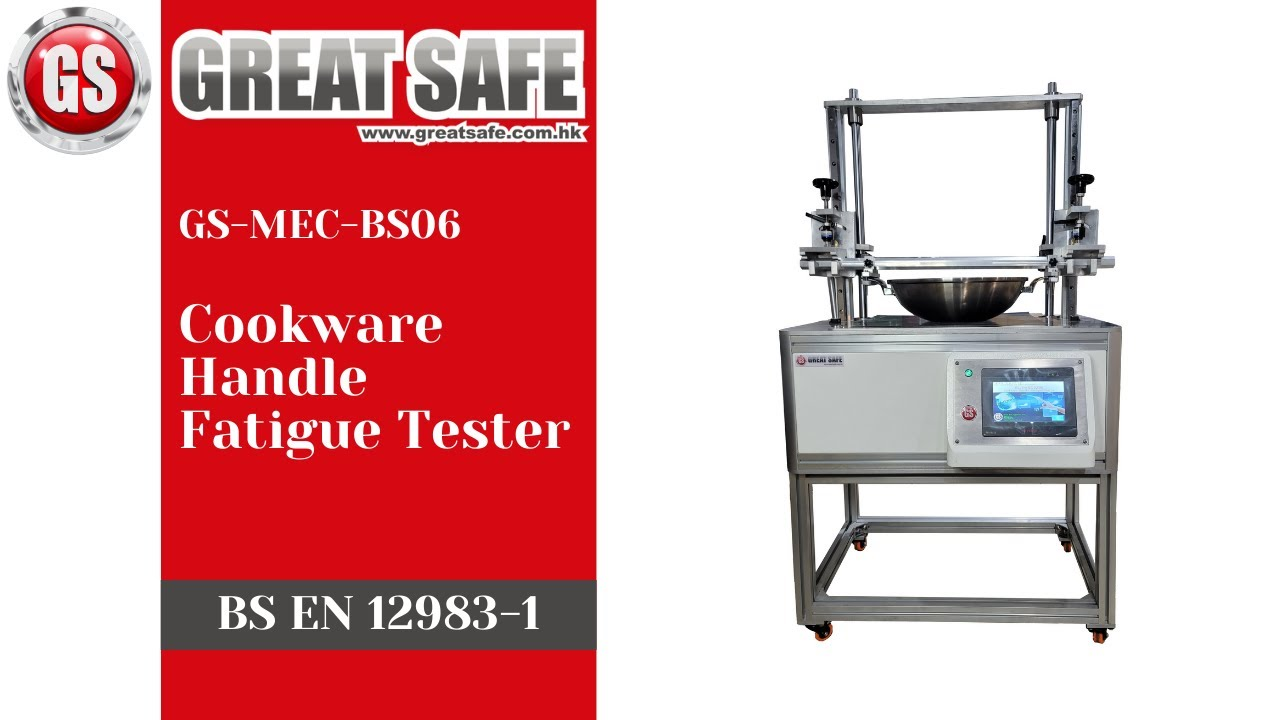 A new model of Cookware Handle Fatigue Tester