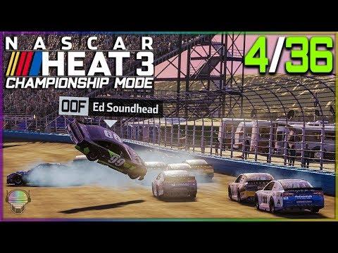 A Nightmare at ISM Raceway | 4/36 | NASCAR Heat 3 2019 Championship Mode |