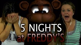 GIRLS VS FREDDY | 5 Nights at Freddy