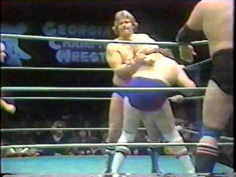 Stan Hansen & Lars Anderson vs. Bobby Garrett & Bob Owens [GCW 1980]