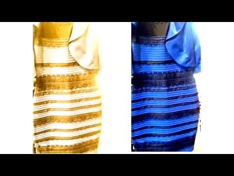 on sale 94748 bbe1b WHAT COLOR IS THAT DRESS ? VESTITO BIANCO E ORO O BLU E NERO ...