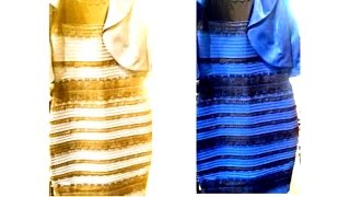 WHAT COLOR IS THAT DRESS ? VESTITO BIANCO E ORO O BLU E NERO ?