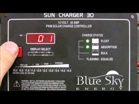 eMarine Blue Sky Sun Charger 30