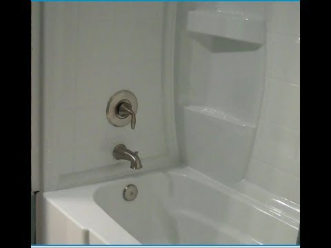 How to\'s of Replacing a bathtub with a Tub Shower Combo - YouTube