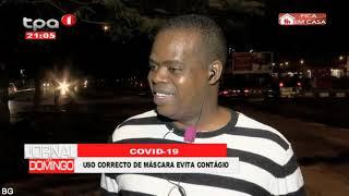 Covid-19: Uso correcto de máscara evita contágio