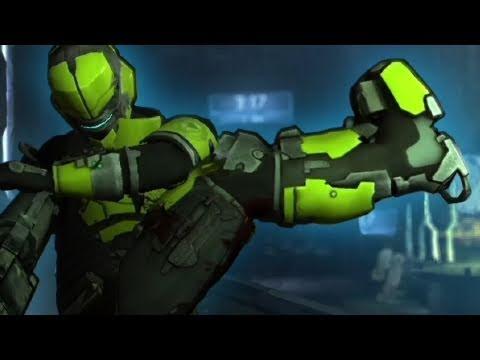 Dead Space 2 Multiplayer Sprawl Security Team Gameplay 2011