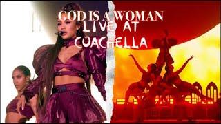 Ariana Grande - God iṡ a woman (live at Coachella)