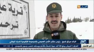سيدي بلعباس: تواصل عمليتي فك العزلة عن القرى وتوزيع المؤونة على المسافرين