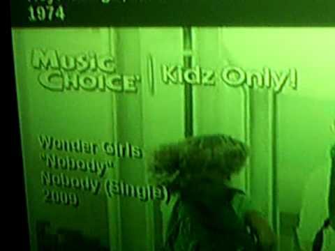 Nobody (English Ver.)  - Wonder Girls on Music Choice