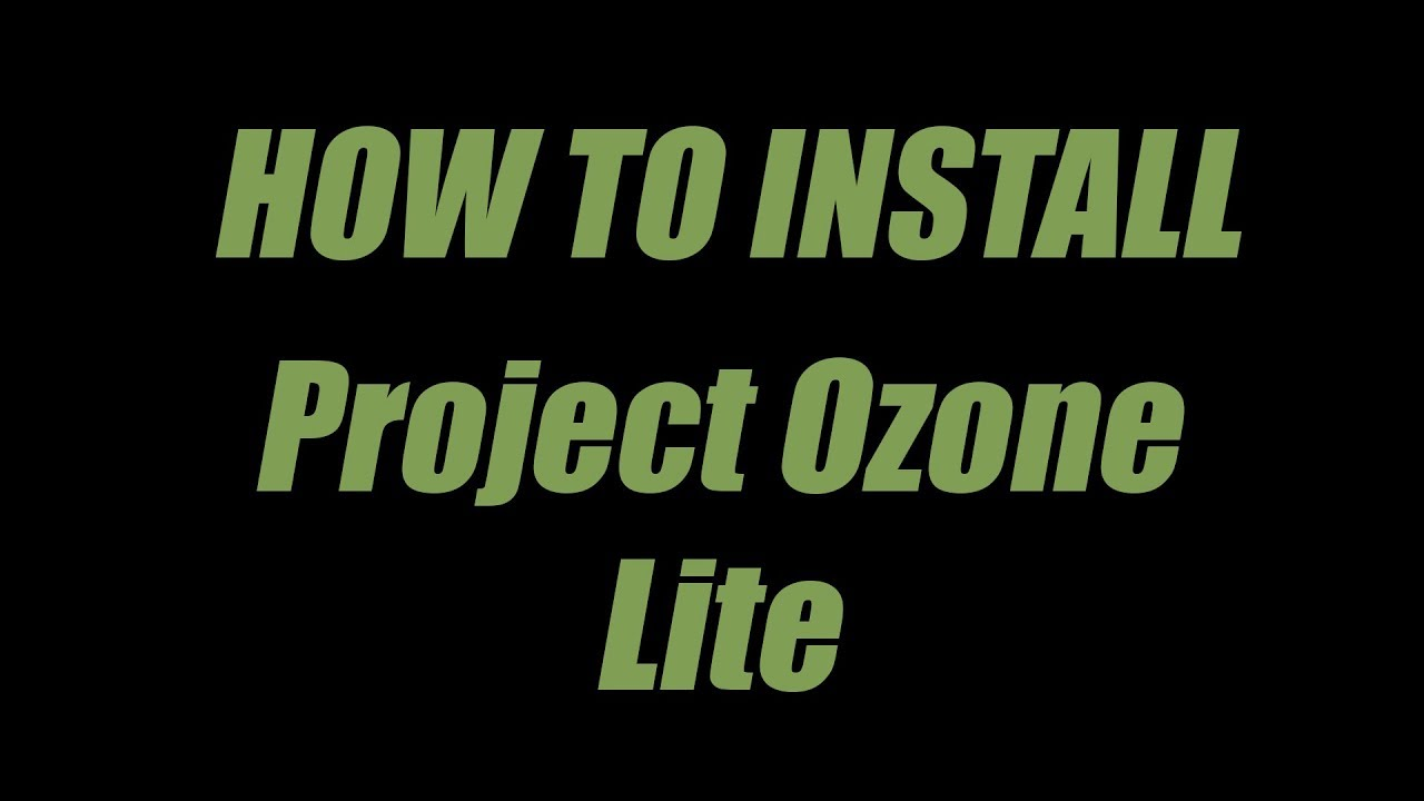 How To install Project Ozone lite With Veinminer and HermitSkys