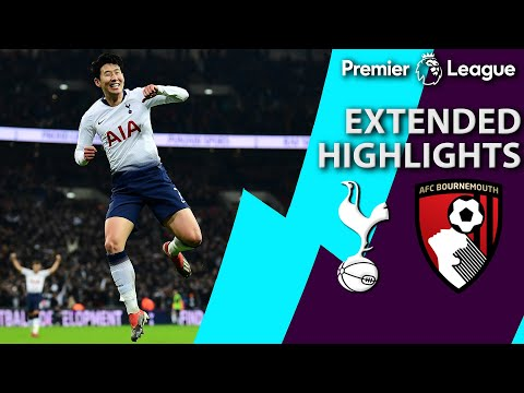 Tottenham v. Bournemouth | PREMIER LEAGUE EXTENDED HIGHLIGHTS | 12/26/18 | NBC Sports