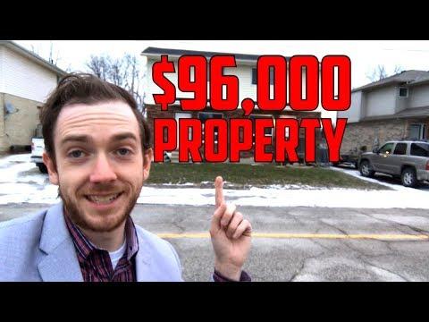 Real Life BRRRR Investing in Windsor Ontario - Windsor Real Estate Market  Breakdown of a Deal