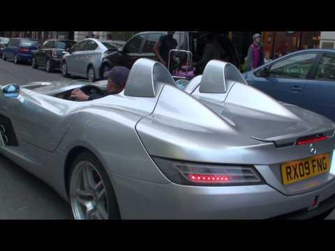 McLaren Mercedes SLR Stirling Moss in London; Driving, Walkaround