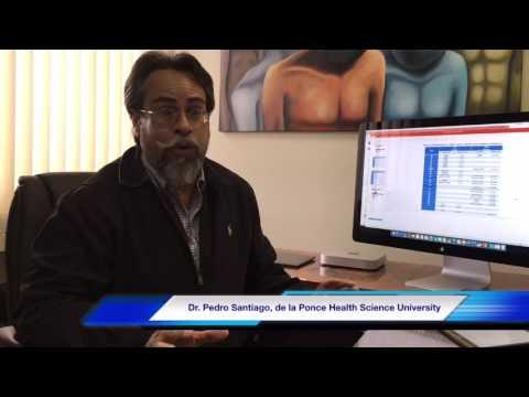 Dr. Pedro Santiago, investigador de la Ponce Health Science University