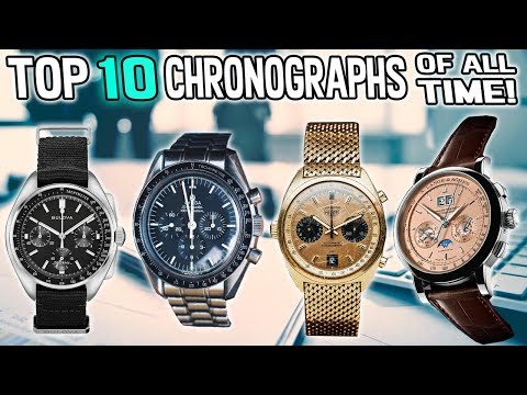 Top 10 Chronographs Of All Time!