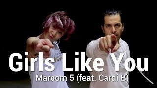 "Baixar MAROON 5 - ""Girls Like You"" ft Cardi B Dance 