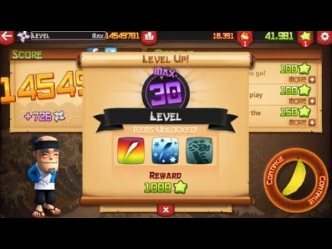 Fruit Ninja: Maximum Level 30 Have All Blades