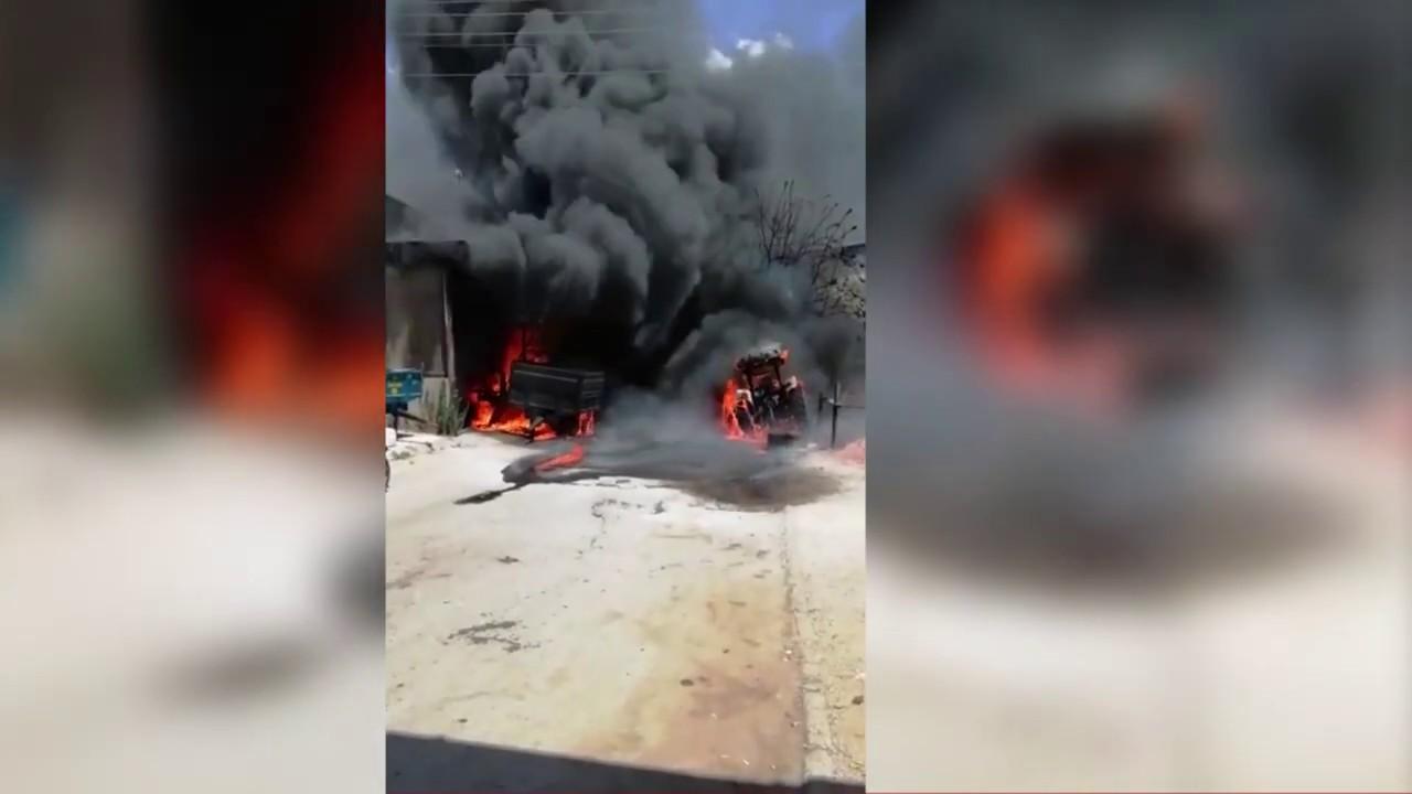 Sanayi Sitesi'nde büyük yangın